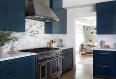 Los Gatos Home — Lauren Nelson Design Teal Kitchen Decor, Kitchen Dining, Kitchen Cabinets, Make Her Smile, Cabinet Colors, Painting Cabinets, Cabinet Hardware, Architecture Details, Interior