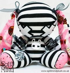 Lollita Cupcake Bunny by SplitxMindxPlush on deviantart.com