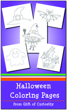 FREE Halloween Coloring Pages for kids Halloween Crafts For Kids, Holidays Halloween, Halloween Themes, Preschool Halloween, Halloween 1, Free Halloween Coloring Pages, Easy Coloring Pages, Science Activities For Kids, Book Activities