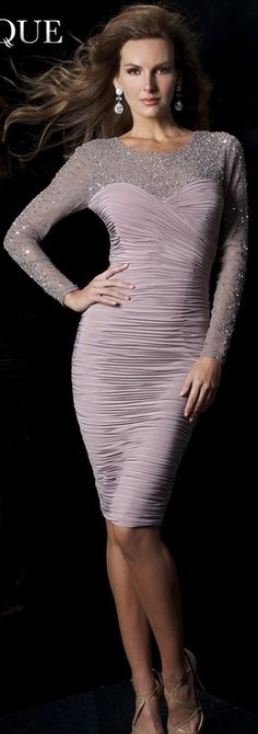 Janique Couture #cocktail #dress