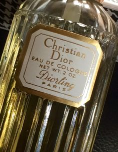 Extremely Rare Diorling by Christian Dior 2ozs, Original Formulation by VintageParfum4Women on Etsy