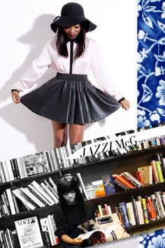 Jazzi McGilbert's blog, a previous intern from Teen Vogue and Fashionista