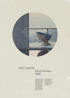 JOHN LAUTNER   ELROD HOUSE 1960