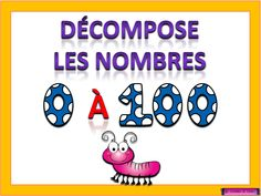 décomposition nombres tni tbi Teaching Math, Maths, Math Numbers, Number Sense, Document, Aide, Cycle, Charlotte, Names