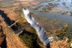 Victoria Falls, or Mosi-oa-Tunya, is located in southern Africa between the countries of Zimbabwe and Zambia. It was named after Victoria Queen in 1855 by David Livingstone, a Scottish explorer and missionary.