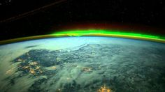 Aurora from the ISS