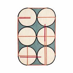 Handmade wool rug with geometric shapes CREDENZA by cc-tapis ® design Patricia Urquiola, Federico Pepe Patricia Urquiola, Norman Copenhagen, Milan Furniture, Interior Design Process, Tapis Design, Carpet Design, Shape Design, Geometric Shapes, Credenza