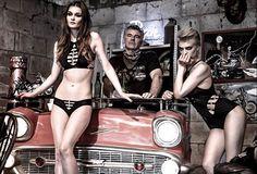 Ain't no place like a Reckless Wolf biker bar.  #recklesswolf #wolfpack #jointhepack #lingerie #lingerie #luxury #fashion #style #luxurylingerie #blacklingerie #blackunderwear #biker #bar