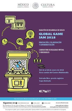Poster showcase 2018 | Global Game Jam® Centro Multimedia, Poster Creator, The Creator, Games, Virtual Reality, Gaming, Plays, Game, Toys