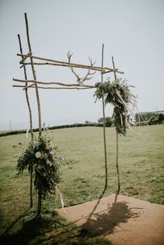The Boho-Luxe, Cornwall Tipi Wedding of Lucy Jules…Tattoos, motorbikes, epic outfits and styling that screams Americana rock n roll and understated luxury.