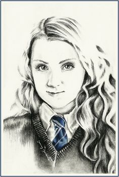 Luna Lovegood by thewholehorizon.deviantart.com on @deviantART