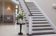 peindre escalier bois moderne