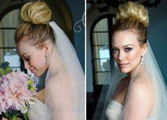 Wedding Hairstyles Hilary Duff Celebrity Wedding Hairstyles