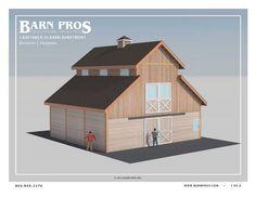 The Caretaker Barn with Living Quarters - Barn Apartment - Barn Pros