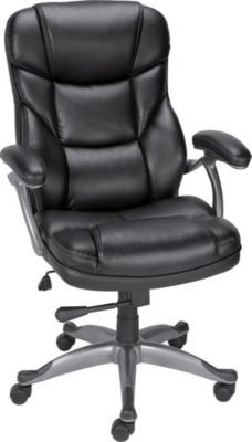 Staples®. has the Staples® Osgood™ Bonded Leather Managers High Back Chair, Black you need for home office or business. FREE delivery on all orders over $19.99, plus Rewards Members get 5 percent back on everything!