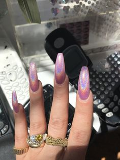 In search for some nail designs and ideas for your nails? Here's our list of must-try coffin acrylic nails for modern women. Summer Acrylic Nails, Best Acrylic Nails, Summer Nails, Summer Stiletto Nails, Acrylic Nail Designs Coffin, Pointy Nails, Crome Nails, Aycrlic Nails, Coffin Nails