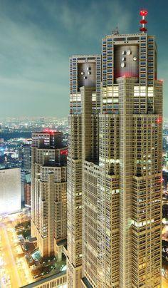 Tokyo Metropolitan Government / Skyscrapers・超高層ビル