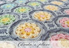 Secret Garden Crochet Granny Circle | AllFreeCrochet.com