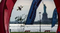 Governor's Island was the backdrop for the U. National Drone Racing Championships as the emerging sport announced its presence to the world.