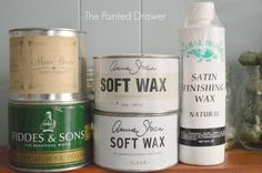 Tips about waxes and sealers