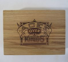 Aces Over Kings Poker Set Vintage Reproduction 1949 World