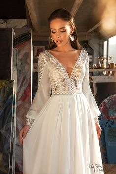 Dream Wedding Dresses Traditional Dresses 2019 Fairy Wedding Dress Floral Homecoming Dresses Mint Lace Dress High Neck Backless Wedding Dress Western Wedding Wear For Mother Of The Bride Fairy Wedding Dress, Wedding Dress Sleeves, Long Sleeve Wedding, Dresses With Sleeves, Gown Wedding, Boohoo Wedding Dress, Mermaid Wedding, Grecian Wedding, Couture Wedding Gowns