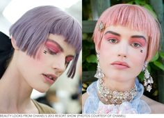 Marie Antoinette Meets '90s Grunge at Chanel's Resort 2013 Show | Beautylish