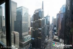 New York City views   Some City View Rooms at the Novotel also afford glimpses of Times ...