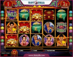 Jewels of the Orient free slot machine developed by @microgaming holds on with its elegancy and brilliance. Every player who tries it, falls in love with charming lady characters. Relax and enjoy playing at #slotozilla!