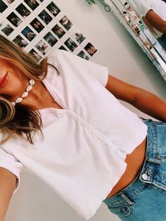 Hottest Denim Summer Outfits Ideas To Inspire Yourself « letterformat.site … Hottest Denim Summer Outfits Ideas To Inspire Yourself « letterformat. Teenager Outfits, Outfits For Teens, Girl Outfits, Fashion Outfits, Fashion Jobs, Fashion Trends, Cute Casual Outfits, Cute Summer Outfits, Spring Outfits