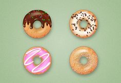 Illustrator Tutorial: Yummy! How to Create Delicious Donut Icons | design.tutsplus.com