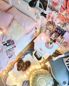 Room Color Schemes, Room Colors, Dream Rooms, Dream Bedroom, Teen Room Decor, Bedroom Decor, Cute Bedroom Ideas, Tumblr Rooms, Room Goals