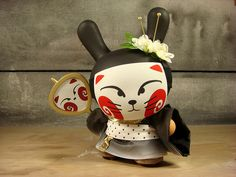 Kitsune, the Seven Tailed Geisha by huckgee