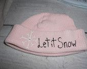 Let it snow thermal hat