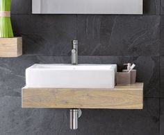 Grohe Essence Single-lever basin mixer Also consider rectangular vessel sink on floating vanity top Floating Bathroom Sink, Bathroom Sink Tops, Rustic Bathroom Vanities, Floating Vanity, Vessel Sink Bathroom, Steam Showers Bathroom, Vanity Sink, Bathrooms, Basement Bathroom