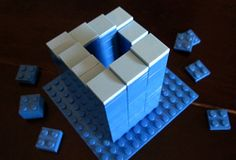 Lego Penrose Stairs Illusion - http://www.moillusions.com/lego-penrose-stairs-illusion/