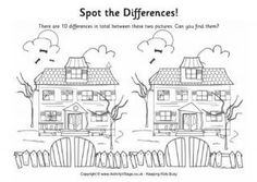 Find the Differences - Haunted House