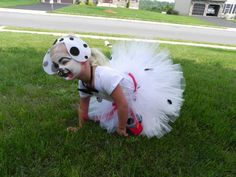 Dalmation tutu for Halloween Costume-Disney Inspired Tutu-Doggie Costume