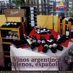 En Angus Brangus encuentras variedad de vinos, acompañados de exquisitas preparaciones.   #Noche #AngusBrangus #Restaurantes #carnes #parrilla @Pasaporte_Vip @restorandoco @ClubIntelecto