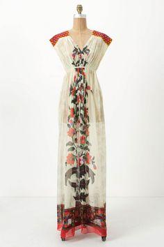 Devaki Maxi Dress @ anthropologie
