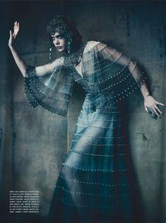 Paolo Roversi for Vogue Italia's September 2011