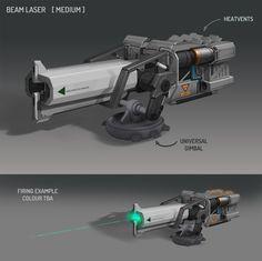 Beam Laser, Josh Atack on ArtStation at https://www.artstation.com/artwork/beam-laser