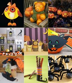 halloween decorations | halloween ideas Las mejores ideas para fiestas infantiles de Halloween
