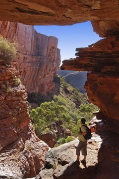 Kings Canyon, Watarrka National Park, Australia photo
