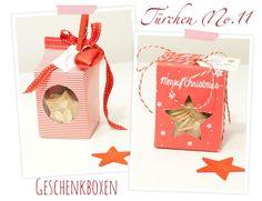 Wunderschöne Geschenkschachteln mit Freebie (Schachtel zum Ausdrucken)...