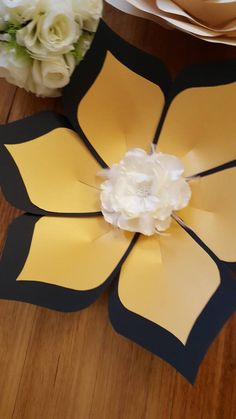 Pdf Paper Flower template #53 by dielora on Etsy