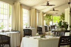 Whistling Swan Restaurant The porch looks lovely