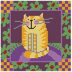 yellow Cat от DureneJones на Etsy
