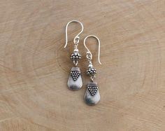 Balinese Sterling Silver Earrings by LindseySilberman