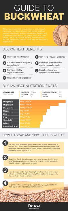 Buckwheat Nutrition & Health Benefits-- not a grain! A seed!